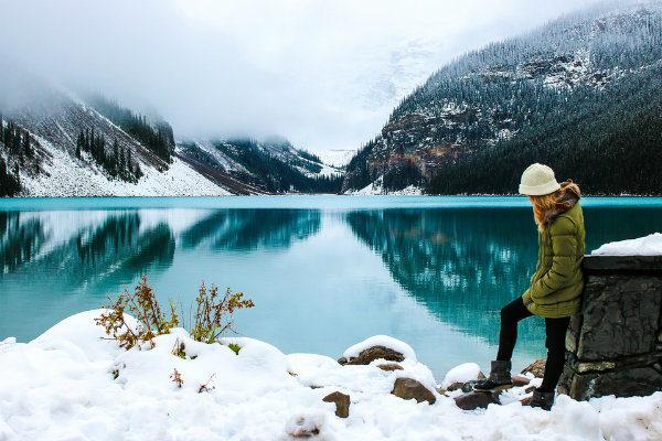 mujeres, trekking, glaciares