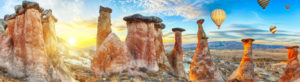 Capadoccia chimeneas Turquía
