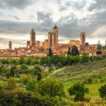 Colina San Gimignano Toscana
