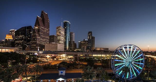 Houston iluminada