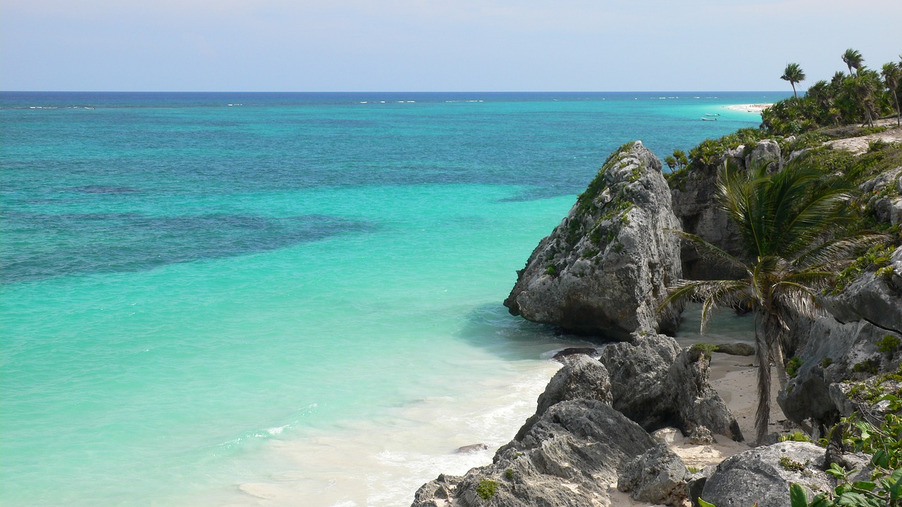 Mar-playa-Mexico