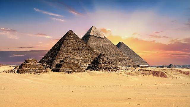 Piramides de Giza Egipto