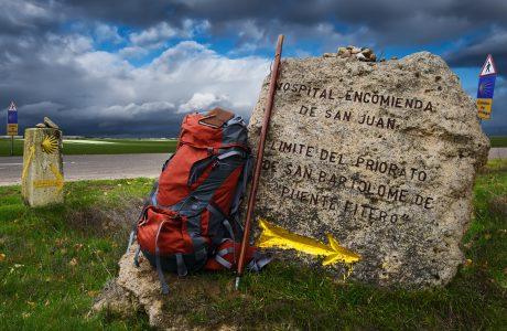 Indicación del Camino de Santiago