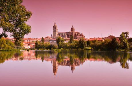 Salamanca, Catedral, Atardecer