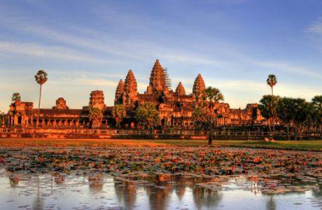Templos de Angkor-Camboya