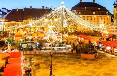 Sibiu, Mercadillo Navideño